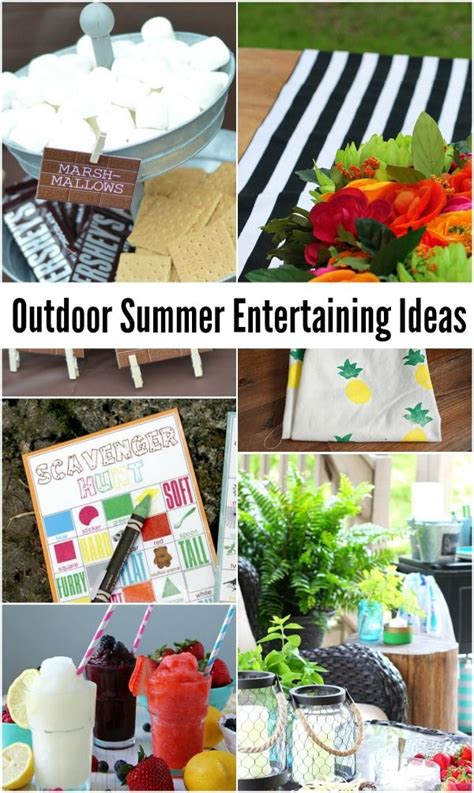 164 best summer entertaining images 12 best images about summer time time on