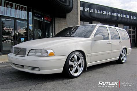 volvo 18 wheels volvo v70 with 18in tsw jarama wheels exclusively from