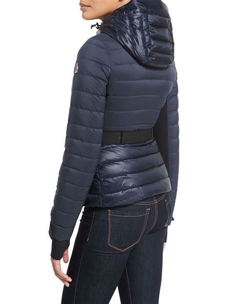 Moncler Quilted Puffer Jacket by Moncler Bruche Quilted Puffer Jacket In Blue Lyst