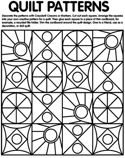 printable freedom quilt patterns more geometry kmm s learning links