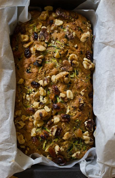 whole grain zucchini bread with honey and walnuts whole grain zucchini bread with honey walnuts the