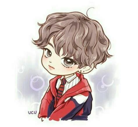 gambar anime bts lucu image about bts in v by berilk02 on we it