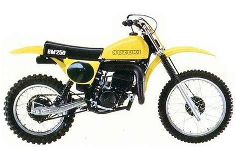 1978 Suzuki Rm 250 Suzuki Rm250 And Rmx250 Model History