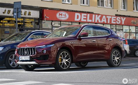 maserati levante red maserati levante s 4 september 2016 autogespot
