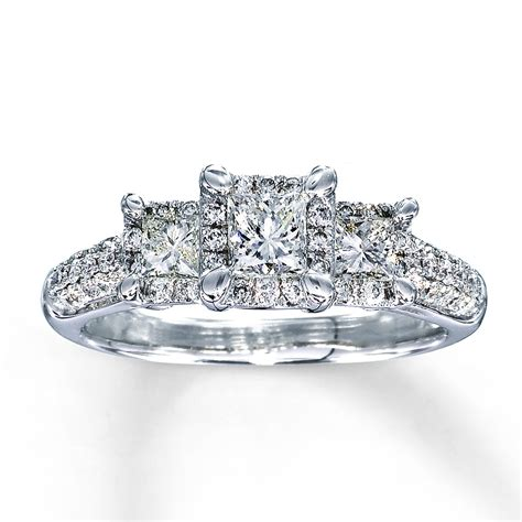 Wedding Rings Princess Cut by White Gold Princess Cut Wedding Rings Truly Unique Ipunya