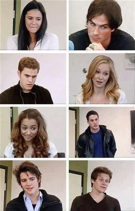 vire diaries season 3 cast when they auditioned for tvd damon ian is the only one