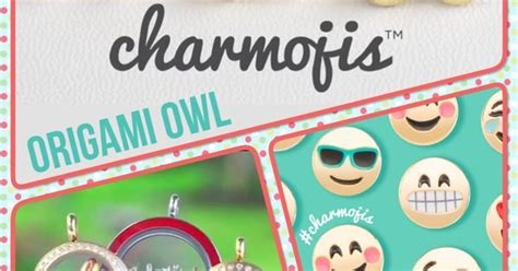 What Stores Sell Origami Owl - origami owl charmojis emojis charms 2016