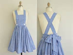 vintage 1950s gingham dress 50s cotton full by simplicityisbliss
