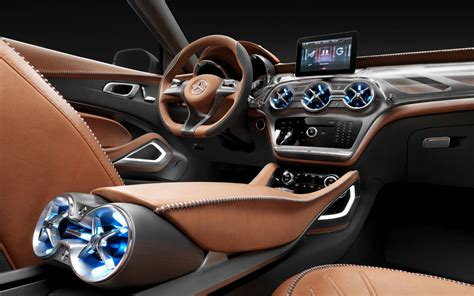 future mercedes interior mercedes benz gla concept first look photo gallery motor
