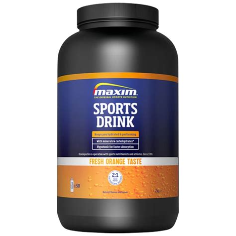 carbohydrates powder maxim sports drink hypotonic beverage powder with