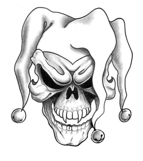 free skull tattoo designs 17 best ideas about jester on joker