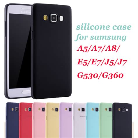 for soft silicone for samsung galaxy 2015 j5 j7 a5 a7 a8 grand prime g530 prime