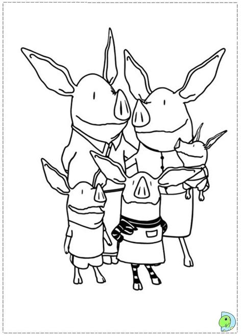 olivia the pig coloring pages az coloring pages