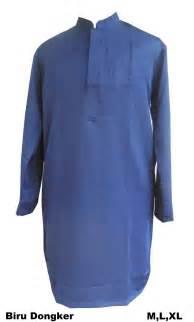 Baju Wearpack Warna Biru Dongker Size L Berkualitas grosir gamis selutut toko muslim ya akhi