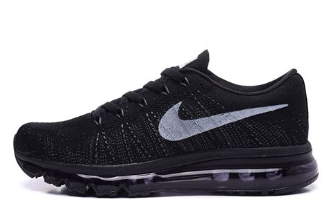 nike flyknit air max running shoes nike flyknit air max black white mens womens running shoes