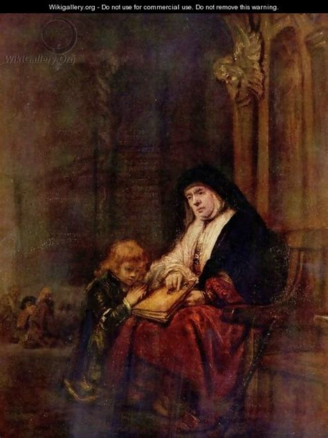 rembrandts universe his art timothy and his grandmother rembrandt van rijn wikigallery org the largest gallery in the world