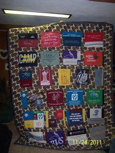 quits t shirt quilt on quilt lights