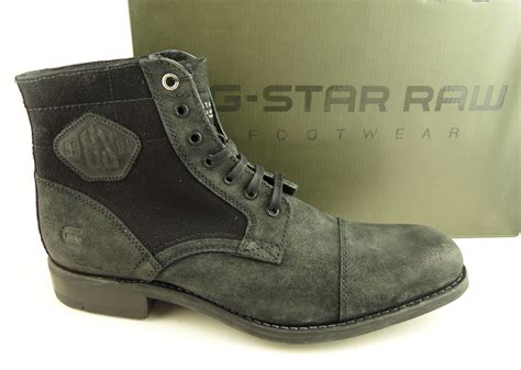 mens g charger iii black leather canvas