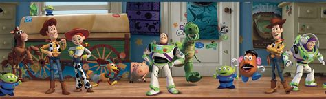 Large Animal Wall Stickers york wallpaper toy story 3 disney toy chest wall border
