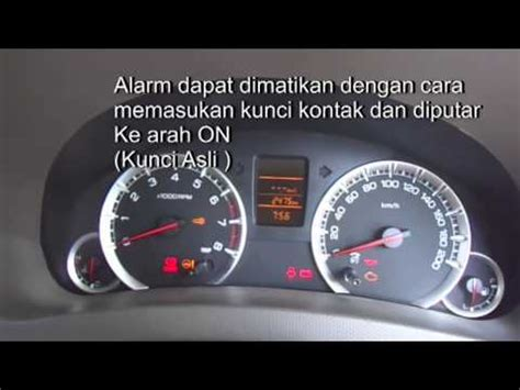 Alarm Mobil Ertiga simulasi alarm ertiga how to save money and do it yourself