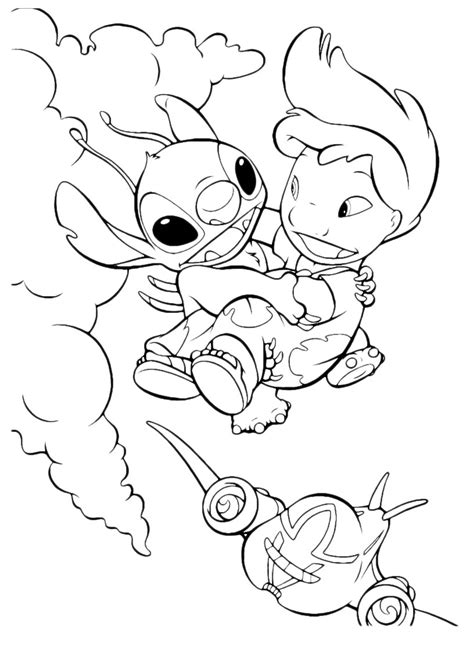 angel from lilo and stitch coloring pages coloring pages