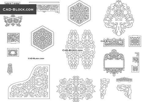 pattern drawing software free download art deco cad blocks free download