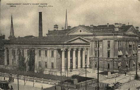 Montgomery County Ohio Court Search Montgomery County Court House Dayton Oh Postcard
