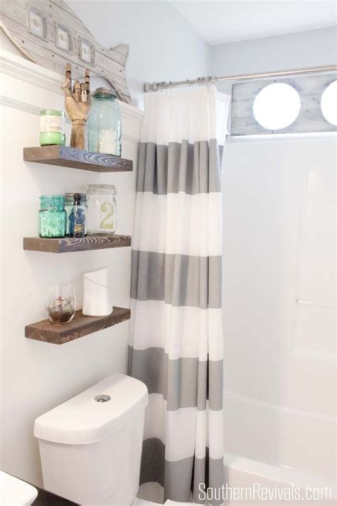 Over The Toilet Storage And Design Options For Small Bathrooms Shelves Toilet Bathroom