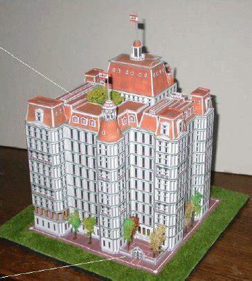 Papercraft City - sim city buildings papercraft paradise papercrafts