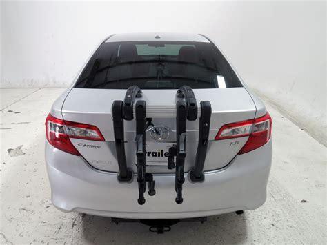 Bike Rack For Toyota Camry by 2012 Toyota Camry Trunk Bike Racks Saris