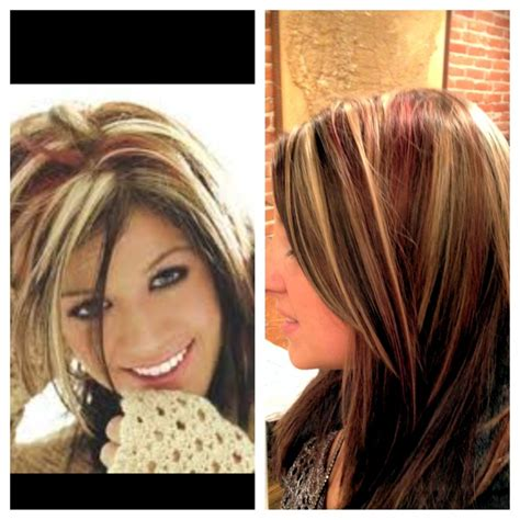 how do i style my hair like kelly ripa a kelly clarkson inspired color hair pinterest