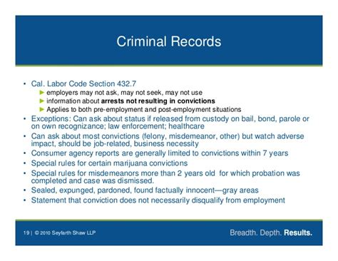 labor code section 432 7 privacy law update darren chaker