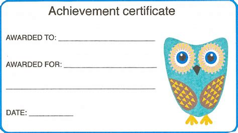 kid certificate templates free printable free and printable templates for activity shelter