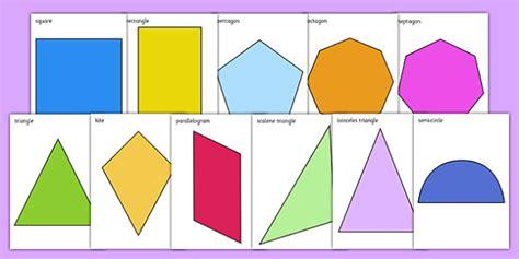 Shape 2 D 2d shape a4 cut outs numeracy geometry shapes 2d 2d