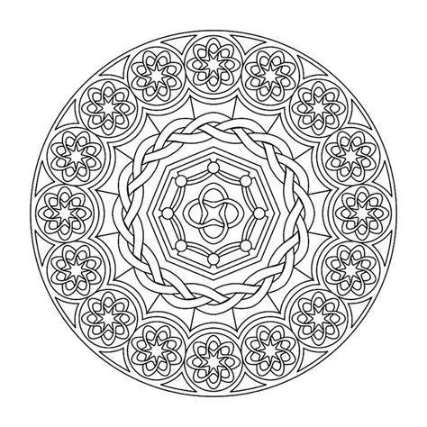 Mandala Coloring Pages For Boys Printable Printable Mandalas The Boys Love To Color These Kids