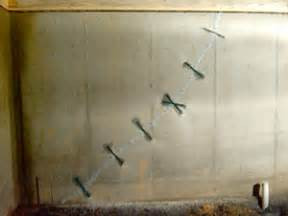 how to fix a cracked basement wall a1 repair maryland concrete wall foundation repairs