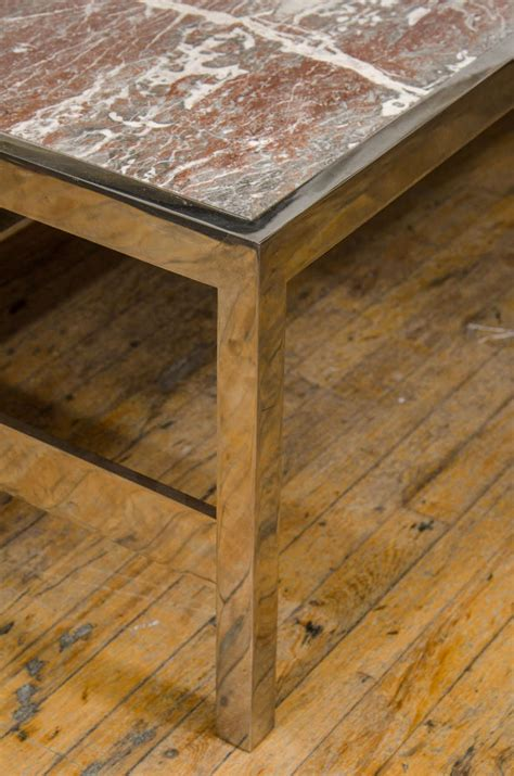 solid marble coffee solid marble coffee and cocktail table on chrome base at