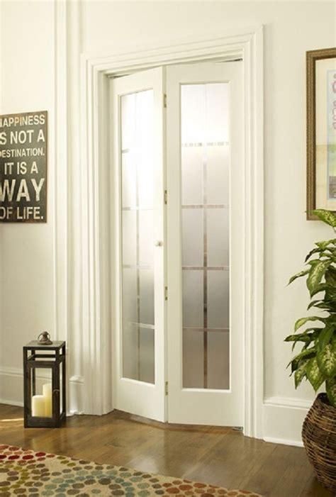half glass bifold doors bi fold doors with frosted glass door designs plans