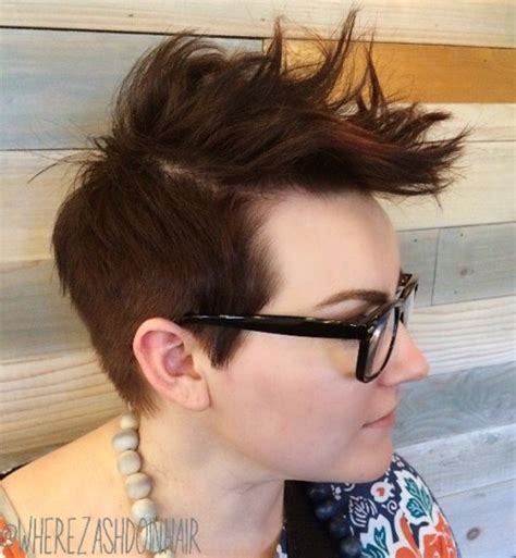 best way to spike female hair 40 bold and beautiful short spiky haircuts for women