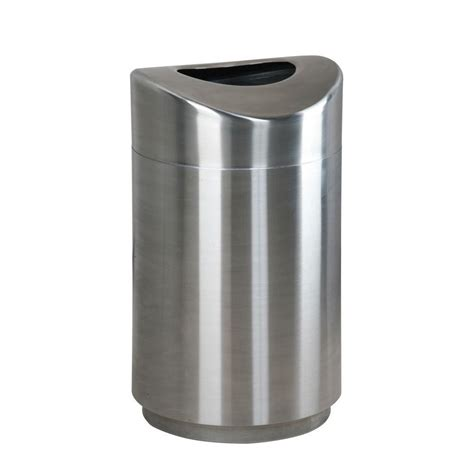 Designer Kitchen Trash Cans by Rubbermaid Commercial Products Eclipse 30 Gal Stainless