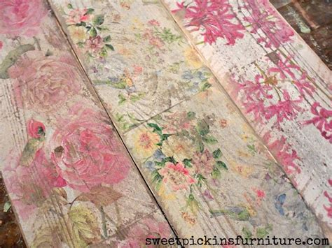 Napkin Decoupage On Wood - 25 best ideas about decoupage furniture on
