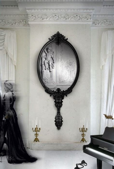 Whos The Fairest Mirror Mirror On The Web by Interior Idea 15 Framed Mirrors For Modern Rooms