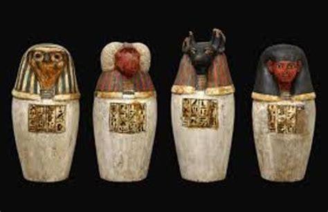 vasi funerari egizi 10 interesting canopic jar facts my interesting facts