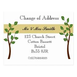 Change Of Address Announcement Template by Change Of Address Cards Change Of Address Card Templates