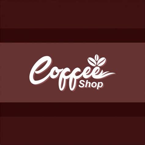 Free Design Shop Logo | coffee shop logo design free vector