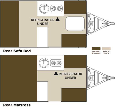 aliner floor plans 2017 aliner classic rear sofa ottawa cing trailers