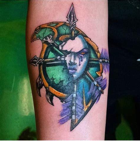 forsaken tattoo forsaken crest wow amino