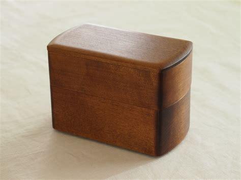 Japanese Wooden Bento Box Decker wooden lacquered bento boxes by oji masanori spoon tamago