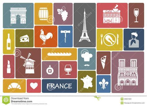 imagenes y simbolos de francia s 237 mbolos de francia ilustraci 243 n del vector imagen 39921093