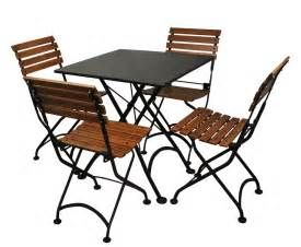 Outside Bistro Table 4114s Chairs